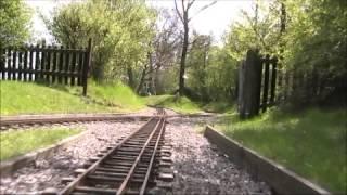 Vale of Aylesbury Model Engineering Society - Golding Springs Miniature Railway - Driver's Eye View