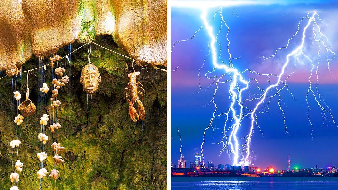 أكثر مكان مُكهرب و25 من الأشياء الأخرى الغريبة تحدث على كوكبنا