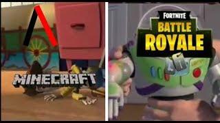 Fortnite vs Minecraft - Video ramdom | SDLG