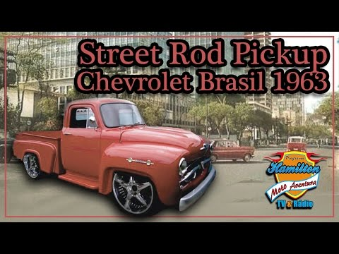 Street Rod Pickup Chevrolet Brasil 1963