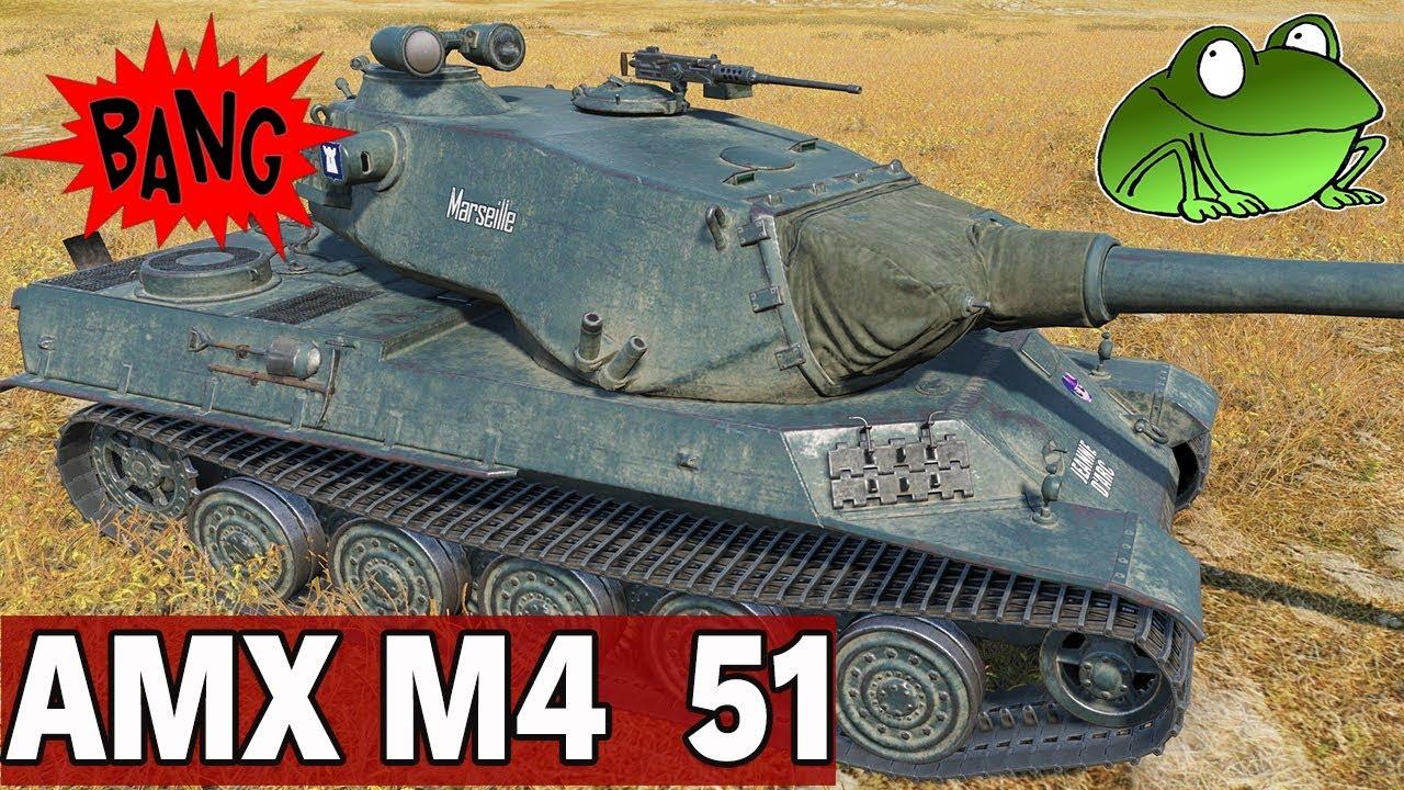 NOWY IX TIER – AMX M4  51- World of Tanks