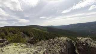 Mt. Hood Timelapse -Chipmunk Photo Bomb