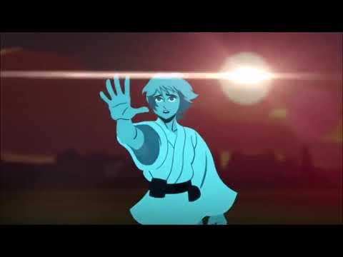 "Star Wars - Anime Opening 1 (A New Hope Arc)   ""Adamas"" - LiSA"