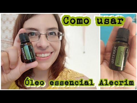 Como Usar O óleo Essencial De Alecrim (Rosemary)