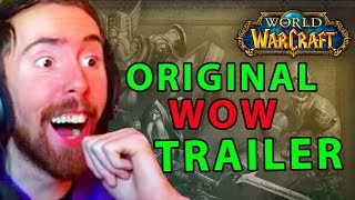Asmongold Discoverers RARELY Seen Original WOW Trailers