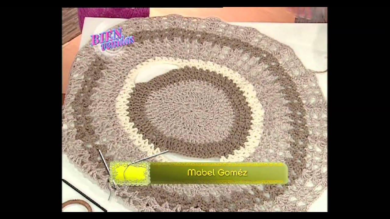 Bienvenidas TV - 20-03-2012 - DIY - zuccinis ratatouille, falso acabado y chaleco circular
