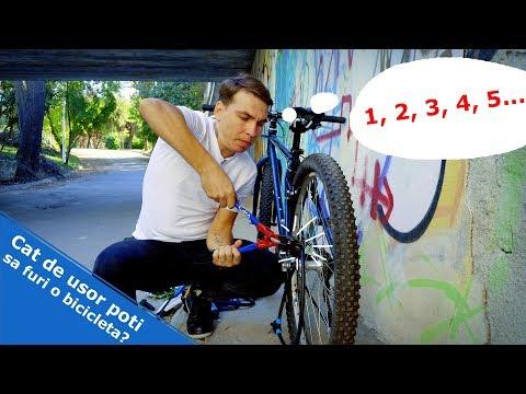 Cat de usor poti sa furi o bicicleta?