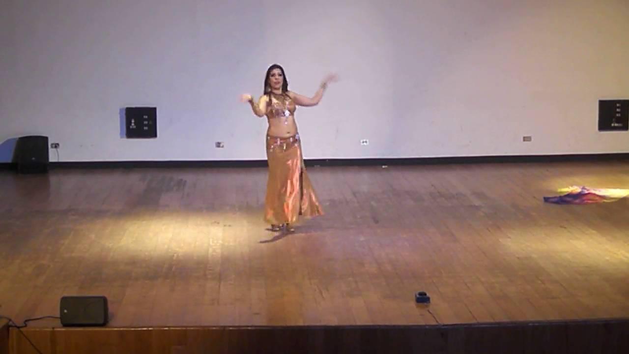 Alma Said: Medley Sawah & Habibi ya eini (bellydance) - YouTube