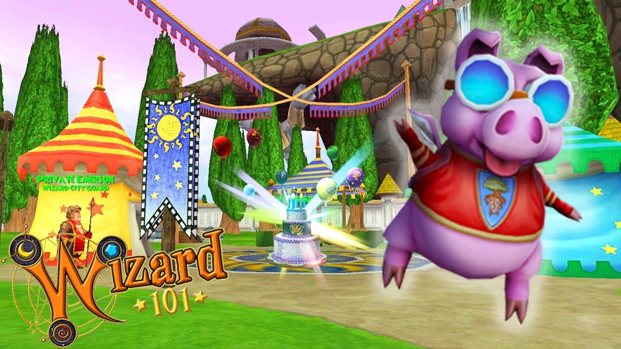 Wizard101's 11th Birthday REWARDS!!