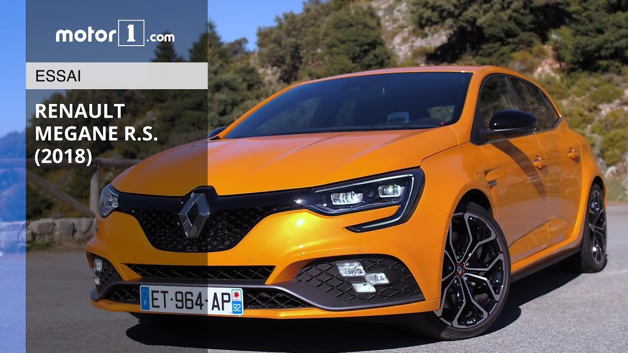 essai renault m gane r s 280 edc 2018 la nouvelle r f rence youtube. Black Bedroom Furniture Sets. Home Design Ideas