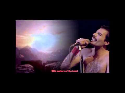 Jealousy - Queen (Karaoke, Text Guide) HD