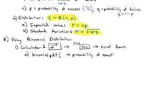 2.5 Binomial Distribution