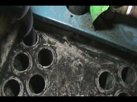 how to clean oil furnace burners
