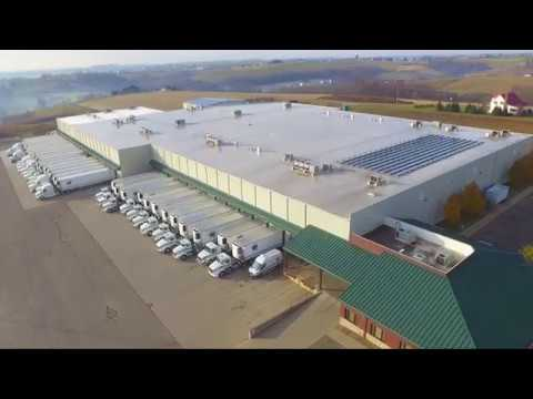 Walnut Creek Foods Distribution Center - Aerial Footage