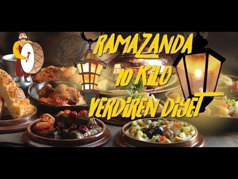 RAMAZANDA 10 KİLO VERDİREN DİYET--...