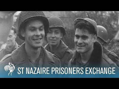 Prisoners Exchange At St Nazaire (1944)
