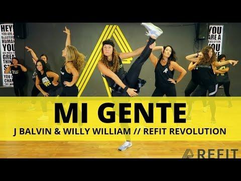 """Mi Gente"" || J Balvin || Dance Fitness Choreography Video || REFIT® Revolution"