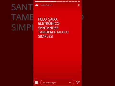 Como habilitar o ID Santander por SMS ou Caixa Eletrônico