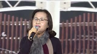 회원 김혜경 꽃이 피기를(문지원) 씽씽강민서 노래교실 2017.12.14.