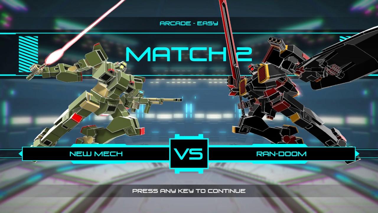 Garrison: Archangel - Mecha Fighting Game Gameplay - YouTube