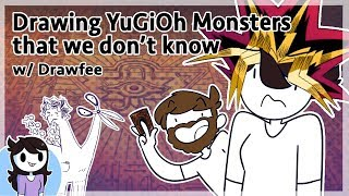 Drawing YuGiOh Monsters We don
