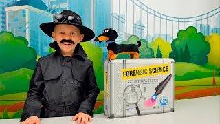 Детектив Даник и набор для маленького Детектива. Дело №1 Похищения Барбоса. Detective's Toolkit