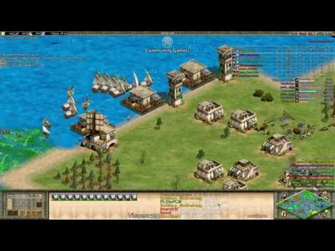 AoE2 - MegaRandom - Free For All! King Of The Hill!