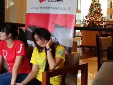 JKT48 Live Interview At DE PAVILIJIUN Bandung #part1