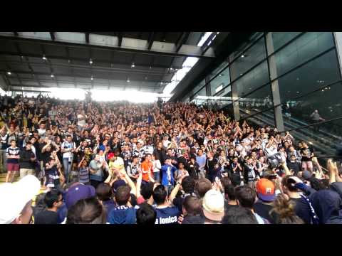 Melbourne Victory Horto Magiko at Southern Cross