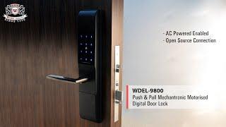 WEIDER - WDEL-9800 MECHANTRONIC DIGITAL DOOR LOCK - Highlight