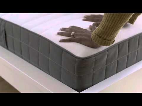 Federkernmatratze ikea  IKEA HAMARVIK FEDERKERNMATRATZE UNBOXING @pastelpix.ch - YouTube