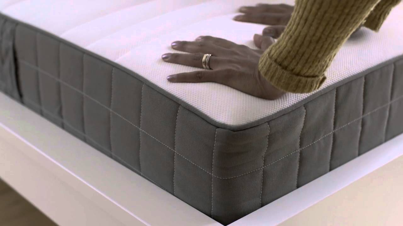 Ikea Foam Mattress Ikea Rolled Packed Spring Mattresses - Youtube