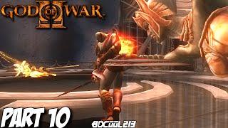 GOD OF WAR 2 GAMEPLAY WALKTHROUGH PART 10 LAHKESIS & ATROPOS BOSS FIGHT - PS3 LET'S PLAY