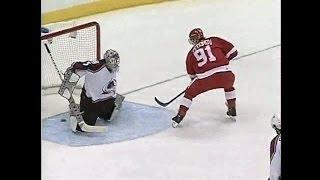 Video 2002 Playoffs: Det @ Col - Game 6 Highlights download MP3, 3GP, MP4, WEBM, AVI, FLV November 2017