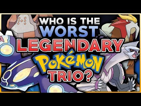Which Is The WORST Legendary Pokemon Trio?