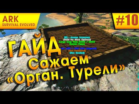 Ark: Survival Evolved - Как сажать/вырастить органическую турель?