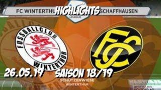 Highlights: Fc Winterthur Fc Schaffhausen (26.05.19)