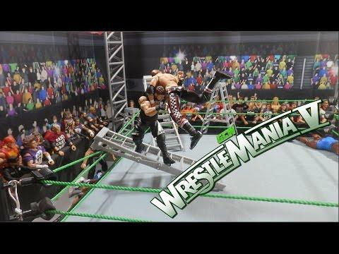 GCW Wrestlemania V FULL SHOW | WWE FIGURES