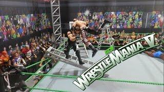 GCW Wrestlemania V FULL SHOW   WWE FIGURES