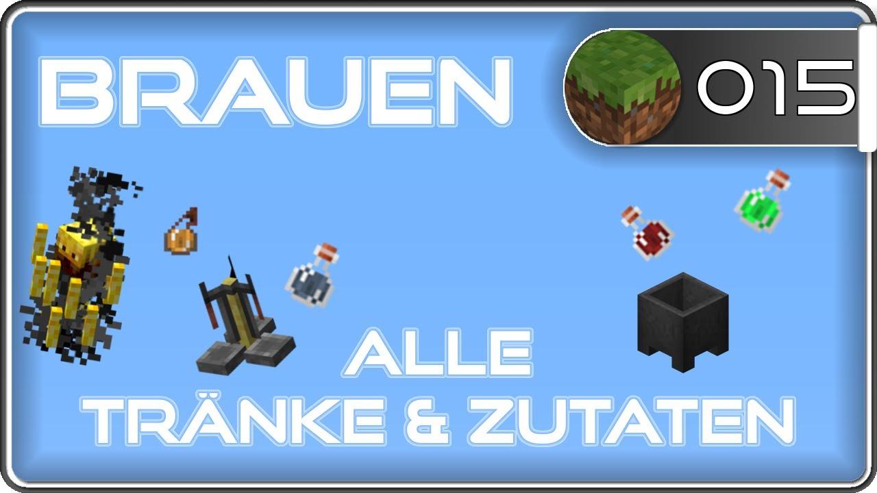 Minecraft Brauen, Braustand & Tränke Tutorial | CLM - YouTube