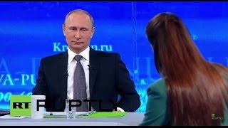 LIVE: 'Direct Line' with president Vladimir Putin
