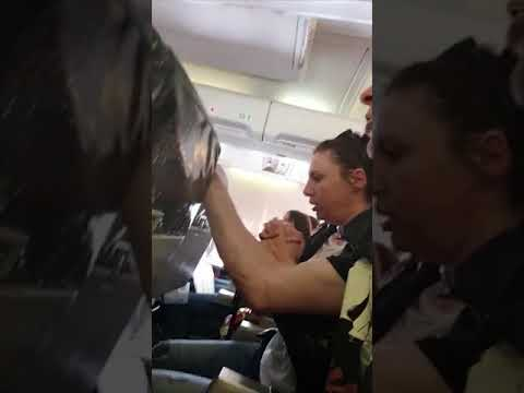 Catfish - Terrifying Turbulence! Attendant Thrown To Top Of Plane & Down