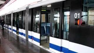 Moscow monorail. Part 1: Timirjazevsaja-Teletsentr trip.