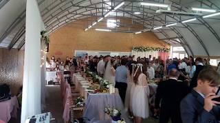 Торжественный приход невесты и жениха на свой брачный пир, молитва и открытие пирной церемонии