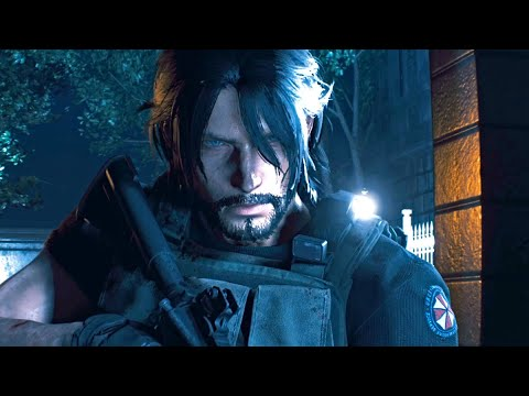 All Noctis as Carlos Scenes ★ Resident Evil 3 Remake x Final Fantasy Mods 【4K 60FPS】