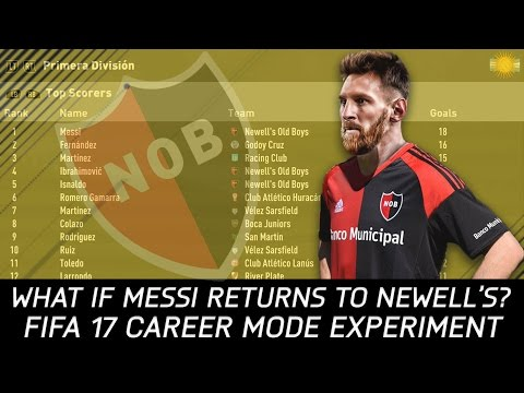 What if Lionel Messi returned to Argentina? - FIFA 17 Experiment