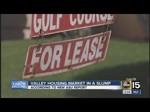 Report: Arizona housing market in a slump