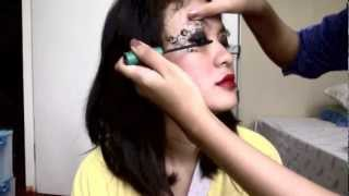 Eyes Temporary Tattoo Tutorial by CHASYA Thumbnail