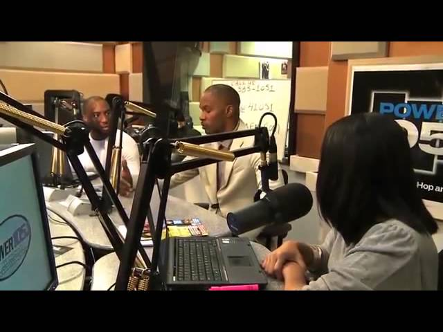 Jamie Foxx Interview at The Breakfast Club Power 105 1 2010