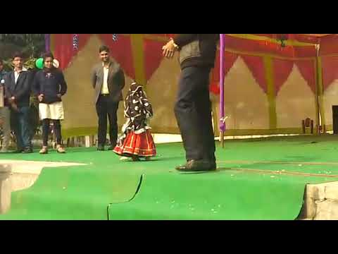 A mind blowing performance by a 3 years old girl at Yaduvanshi Sohali